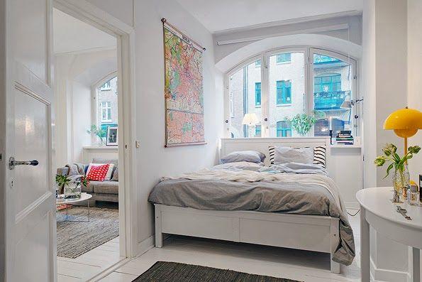 Soluciones para pisos peque os tomad nota ideas de for Soluciones apartamentos pequenos