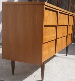 Best Angled Louvered Drawers Mid Century Modern Dressers 640 x 480
