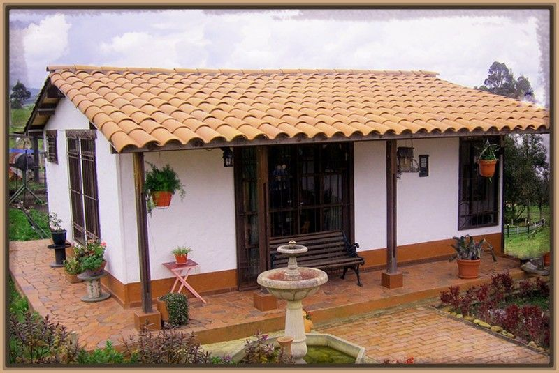 Imagenes de casas de campo peque as por dentro archivos for Casas rusticas de ladrillo