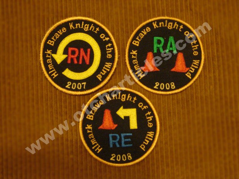 Rally Patches Dog Training Equipment Dog Show Badge