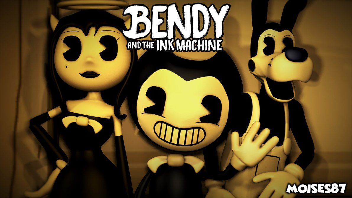 Bendy And The Ink Machine Wallpaper Sfm By Moises87