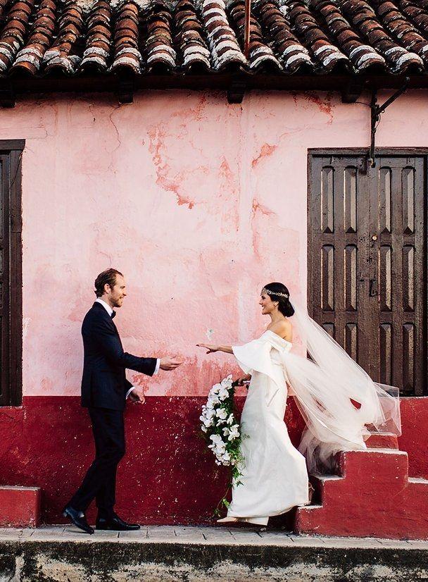 Eugenia Gonzalez De Henn And Martin Henn Marry In San Cristobal De