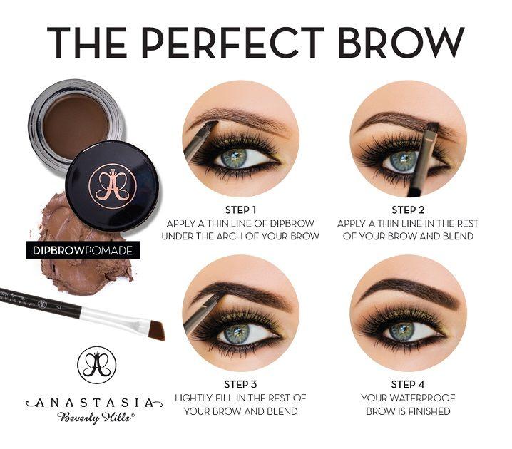 DIPBROW® Pomade - Medium Brown   Anastasia beverly hills ...