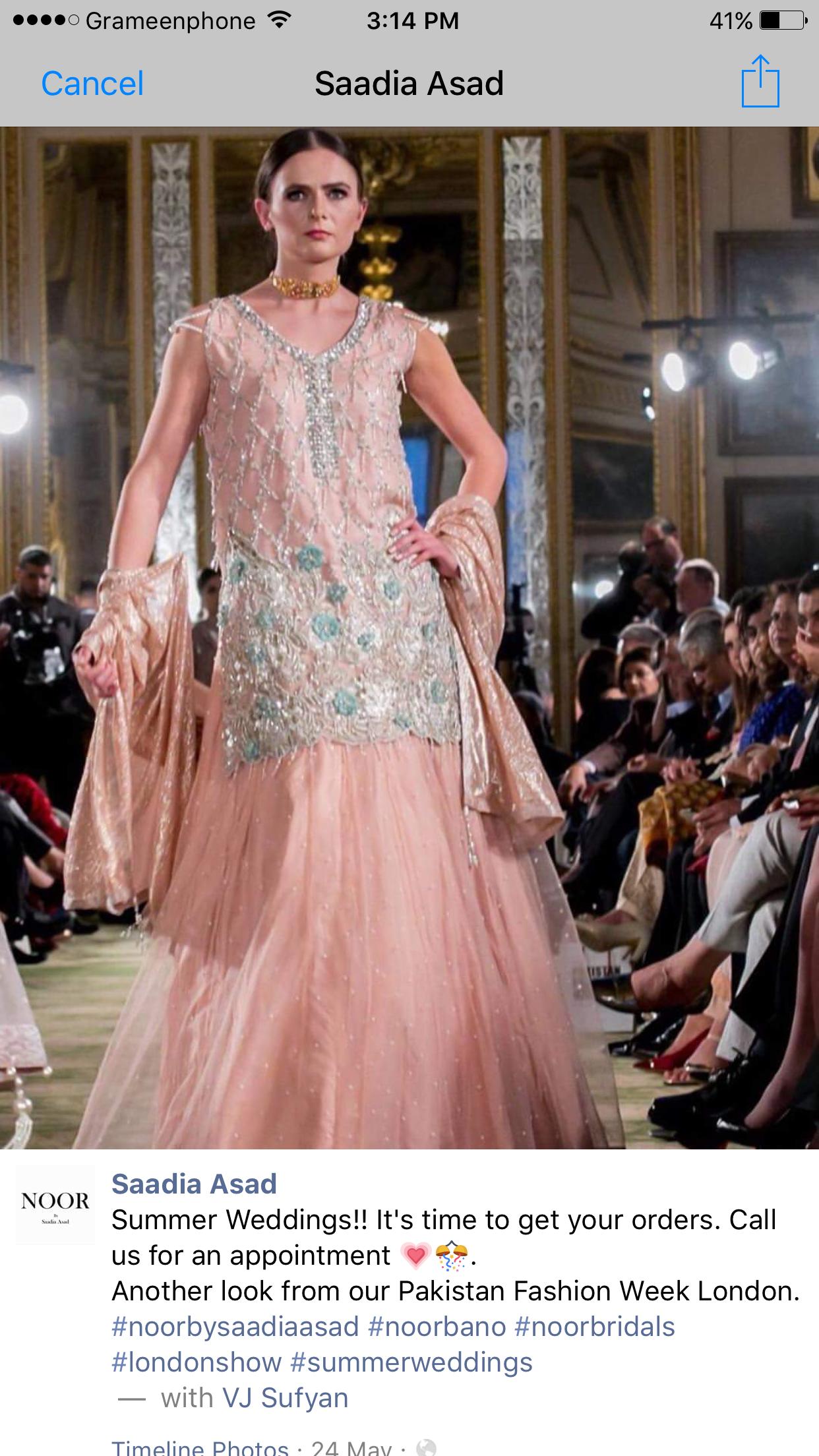 Atractivo Traje De Boda De Pakistán Cresta - Colección de Vestidos ...