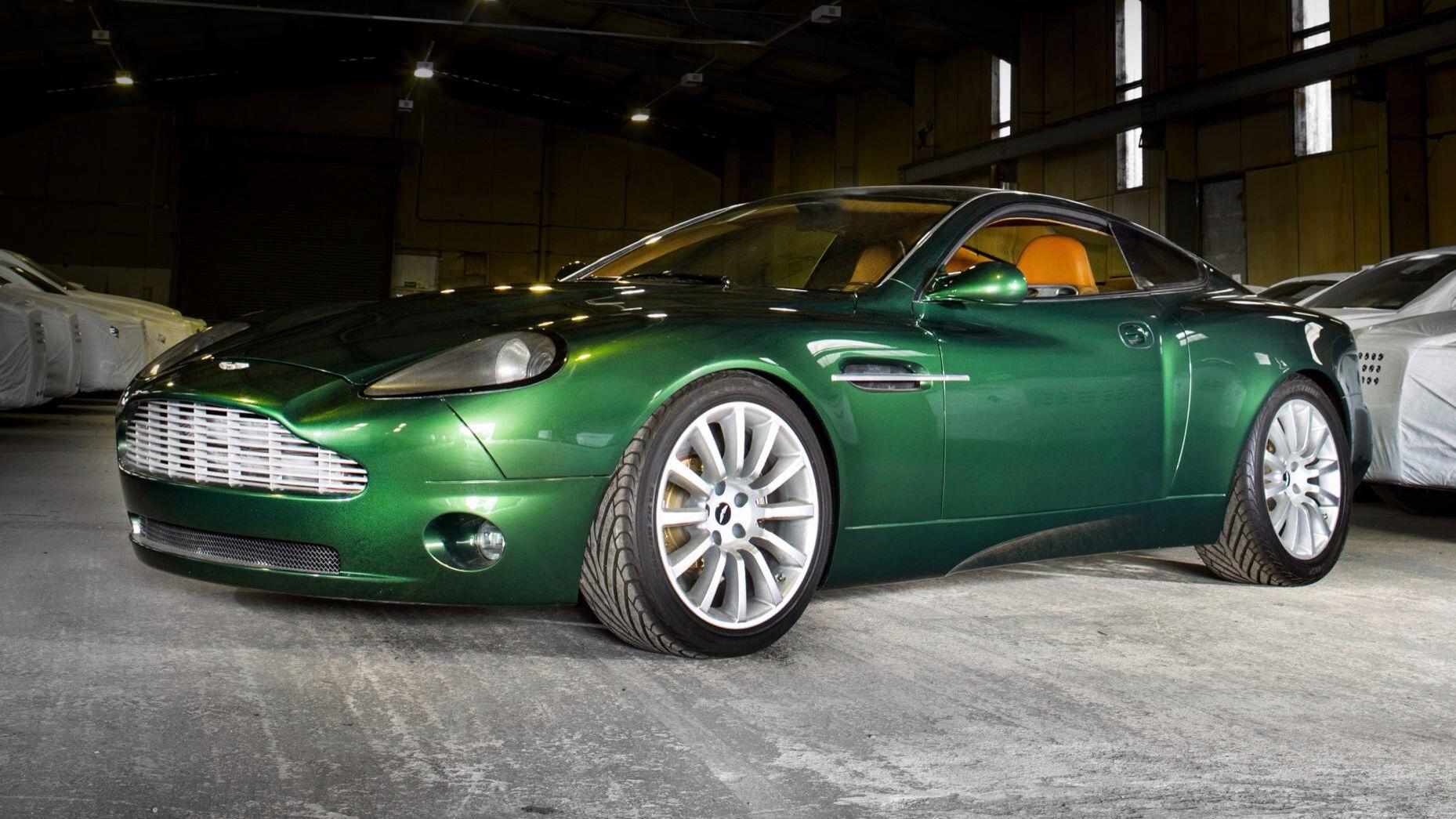 Original Aston Martin Vanquish Concept Aston Martin Vanquish Aston Martin Aston