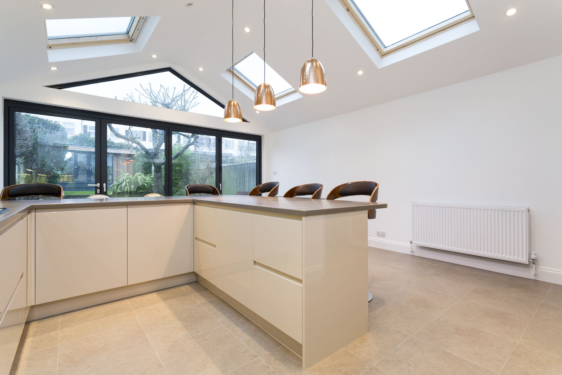 Gable Roof Kitchen Extension, South West London | Simply Extend ...