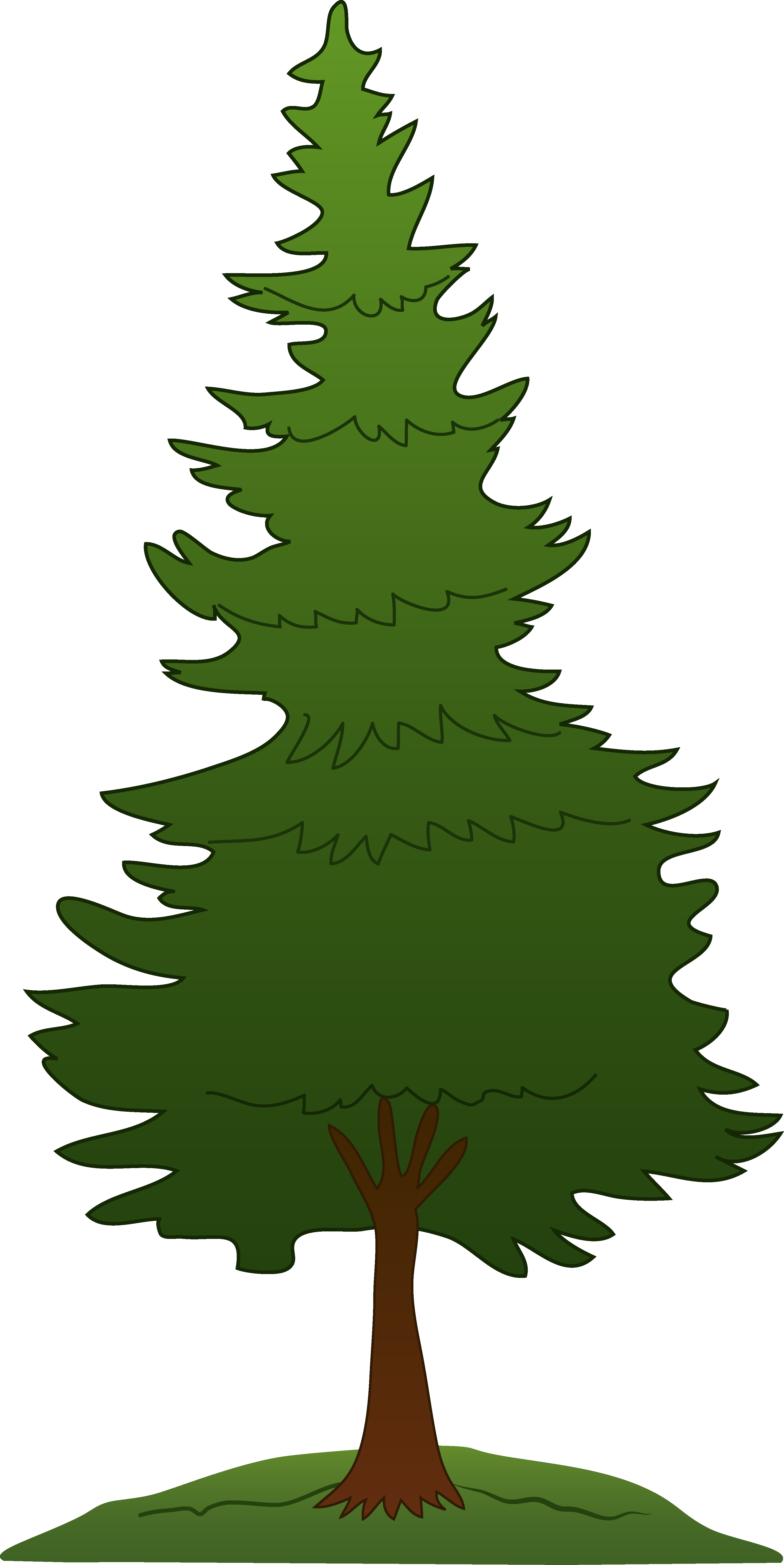 Tree clip art pine tree clipart free | Projects to Try ...