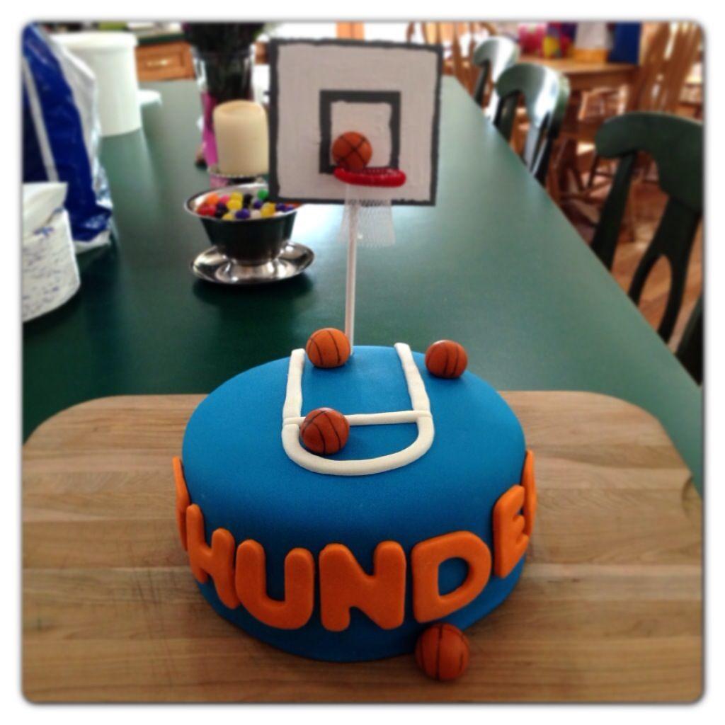 Oklahoma Thunder Basketball Cake for Keegan just basketball for