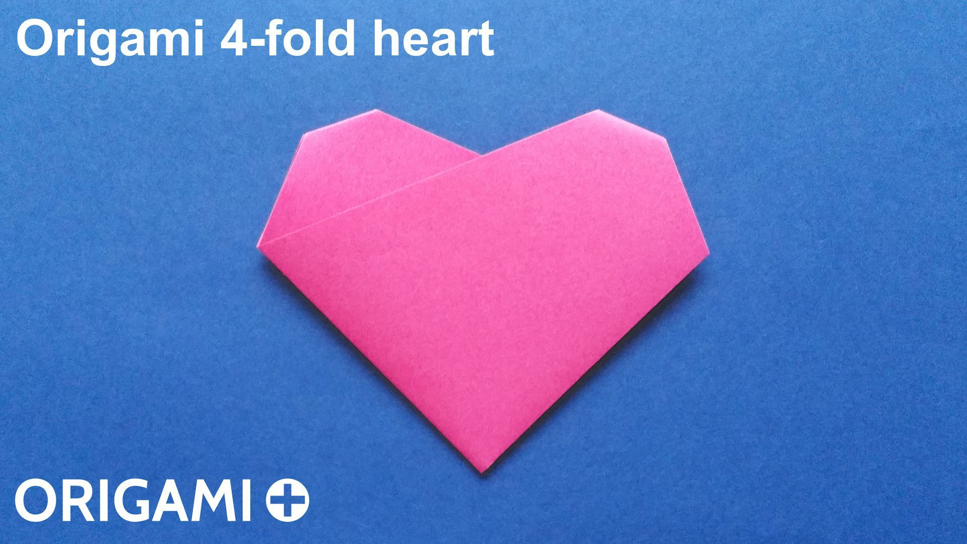 Step by step instructions how to make origami An Easy Heart ... | 1080x1920