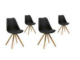 Impressionnant Chaise Salle A Manger Noire Design Decoration