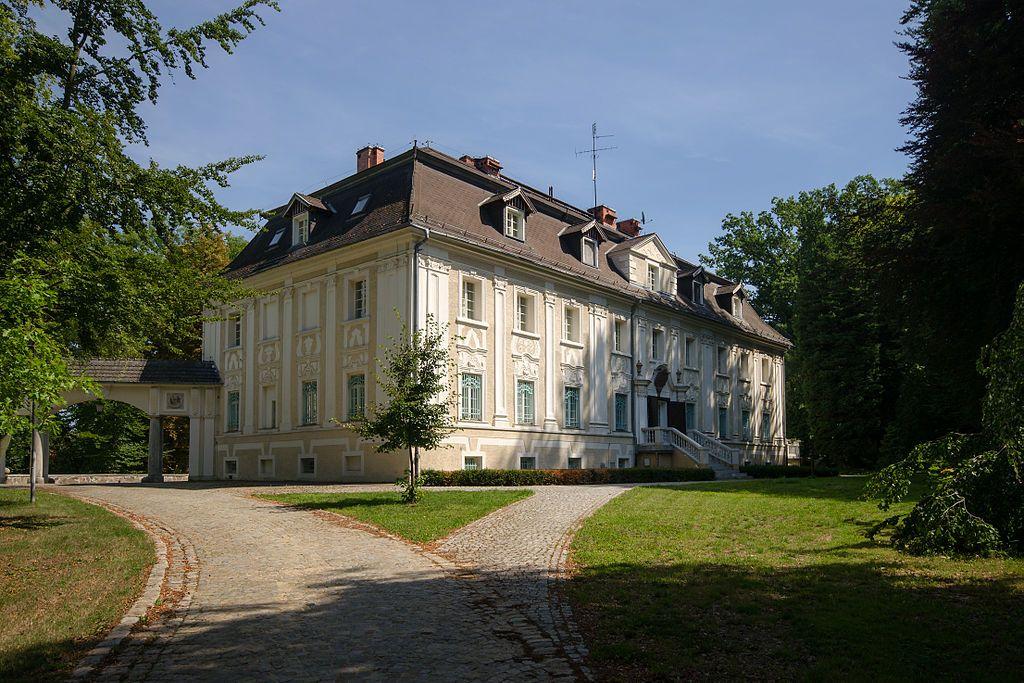 Pałac w Bagnie z XVIII w.