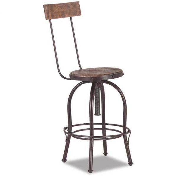 Picture of Bistro Swivel Barstool Chair
