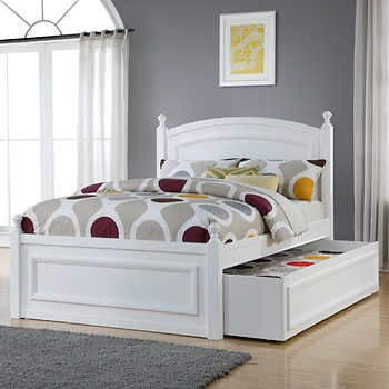 Caramia Kids Hailey Full Bed With Trundle Full Platform Bed Bed