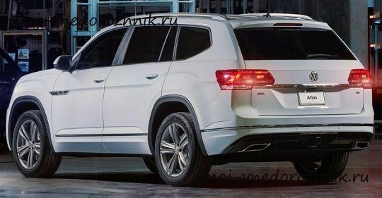 Volkswagen Atlas R Line 2018 Autos