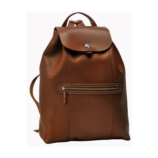Longchamp Le Foulonne Backpack (€480) ❤ liked on Polyvore