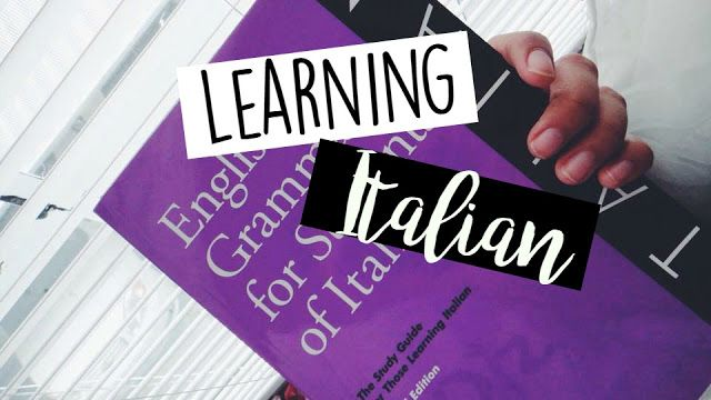 A College and Lifestyle Blog by Madeline Reyes: Learning & Speaking Italian