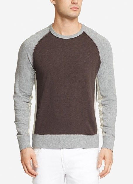 Coastal Weight Sweatshirt - Faded Black Grey by Bonobos - Found on HeartThis.com @HeartThis | See item http://www.heartthis.com/product/309312049473477686/