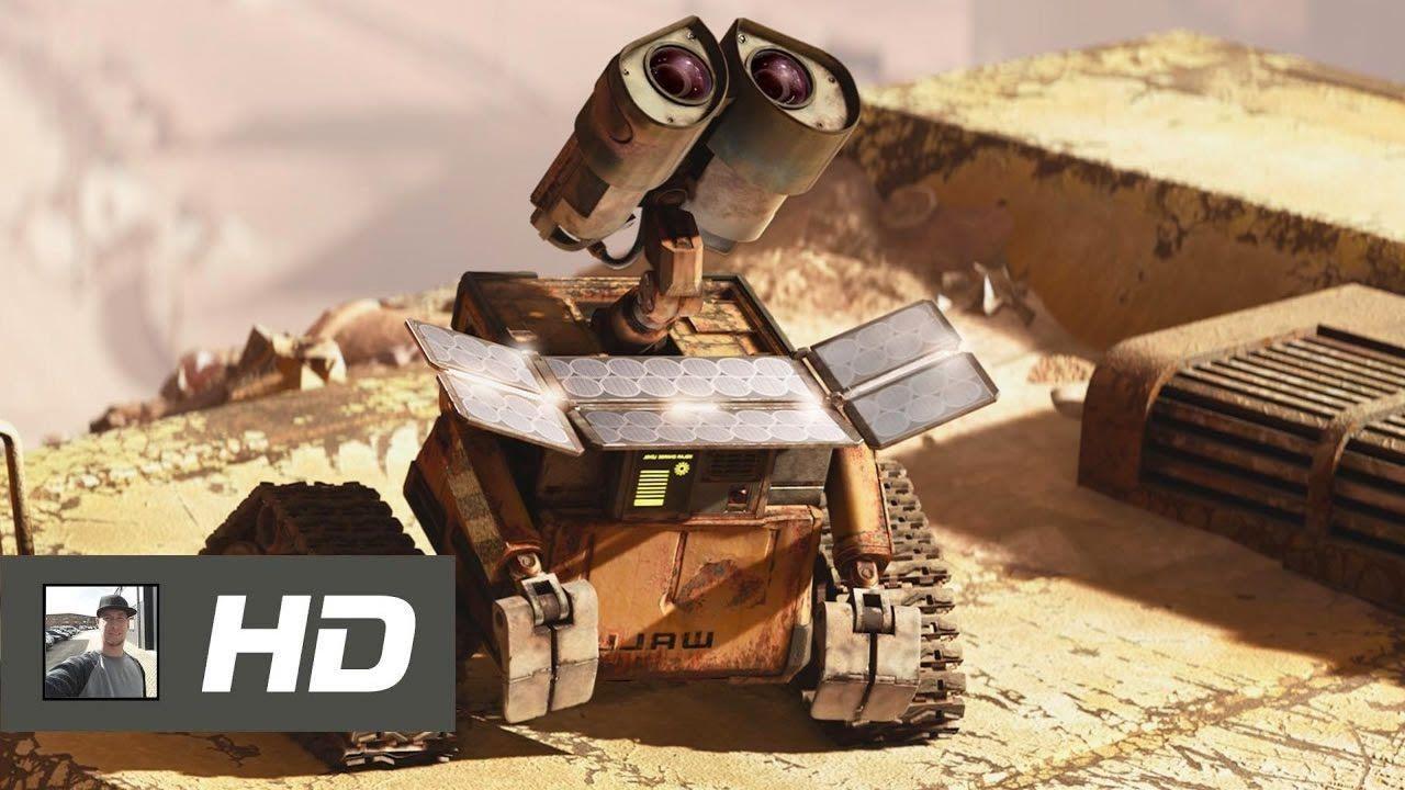 الروبوت الألي Wall E 2 فيلم كرتون قصير