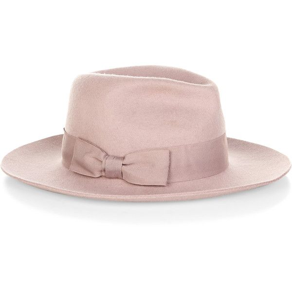 Accessorize Ellie Fedora Hat (51 BRL) ❤ liked on Polyvore featuring accessories, hats, headwear, fedora hat, felted wool hat and accessorize hats