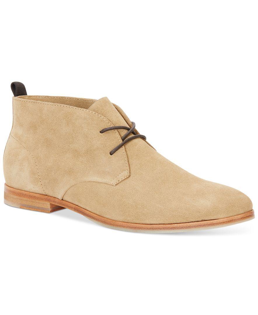 Calvin Klein Farnel Oily Suede Chukka Boots