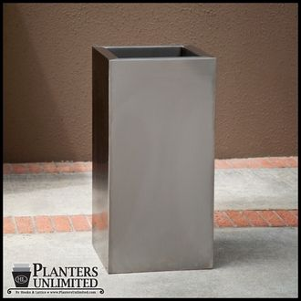 Stainless Steel Planters Need 2 12x12x24 Need 4 12x12x18