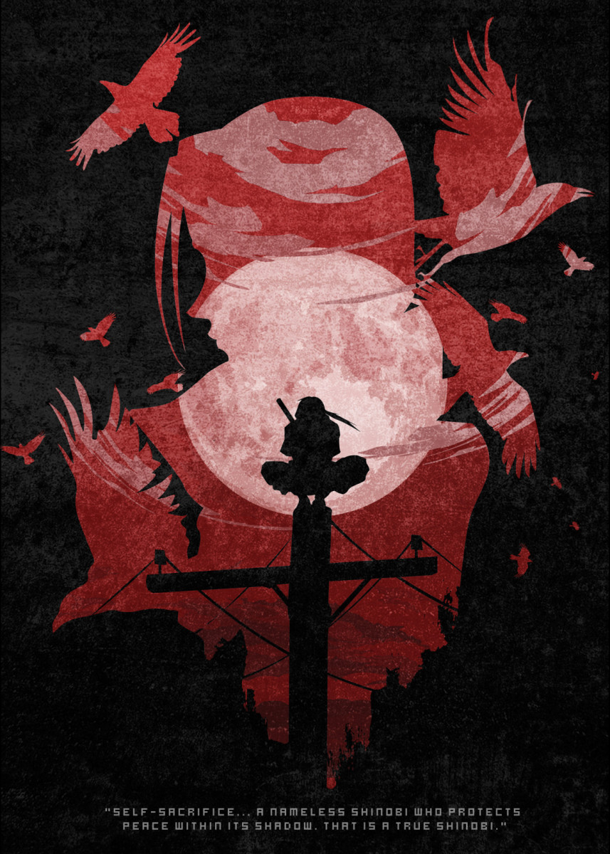 Photo of 'ITACHI' Metal Poster Print – Ryan Ibita   Displate