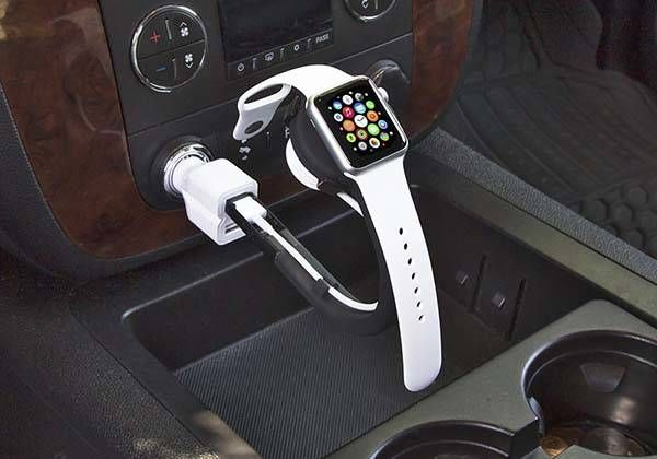 Trident Curve Portable Apple Watch Charging Stand Shows Off Flexible Design