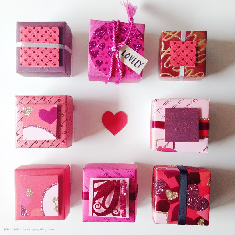 Make valentines day treat boxes out of recycled greeting cards how to make gift boxes out of recycled greeting cards from the hallmark blog m4hsunfo Choice Image