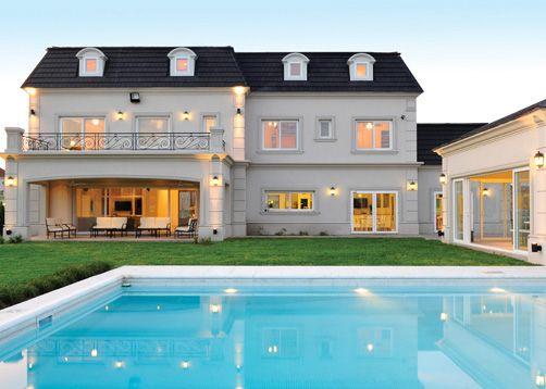 Fern ndez borda arquitectura casas clasicas classic houses house house design house styles - Casas clasicas ...