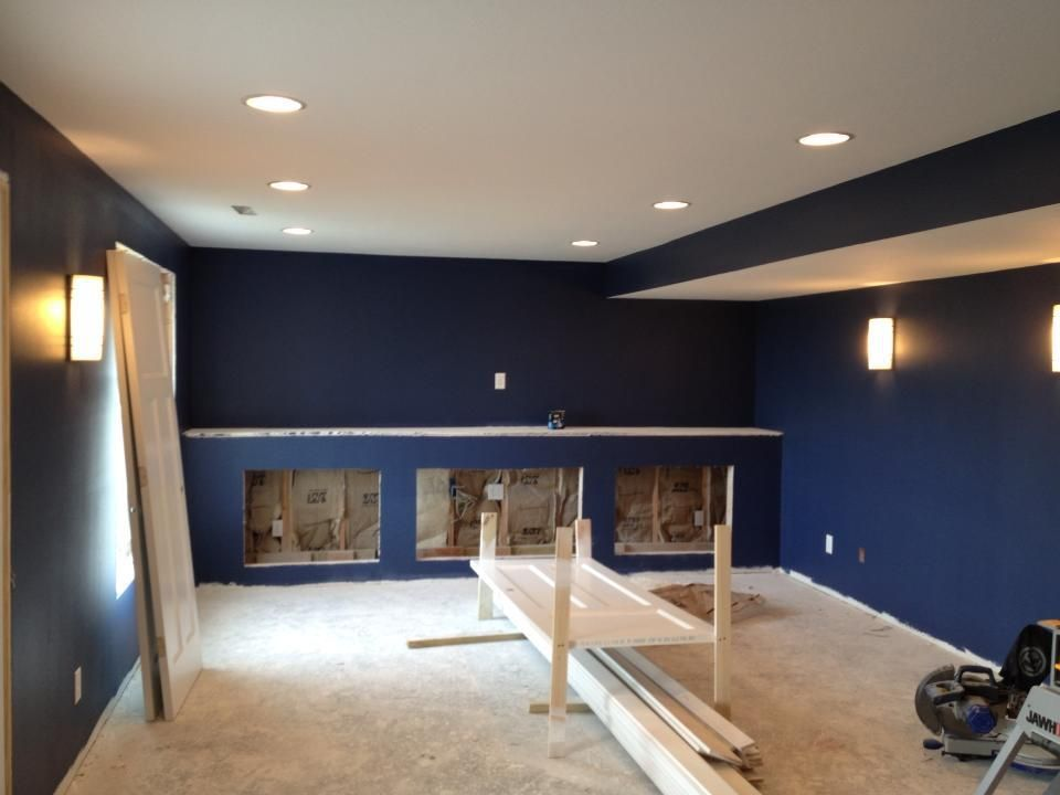 Charmant Basements · Soffit Paint