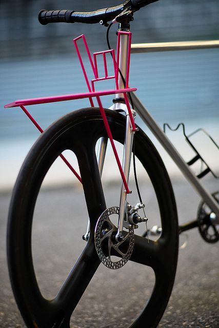Beautiful Bicycle: Cycling WMD's Hail Satan Porteur | Flickr - Photo Sharing!