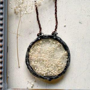 Round Baby's Breath Necklace now featured on Fab ...