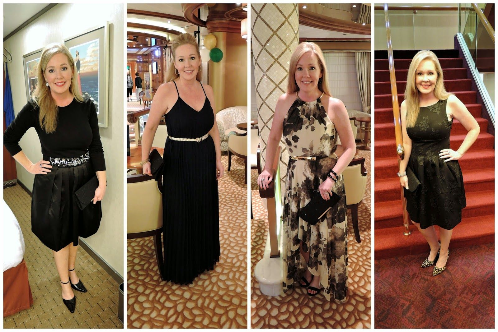 Cruise Wear - What To Wear On A Cruise  Formal Night Outfit Ideas