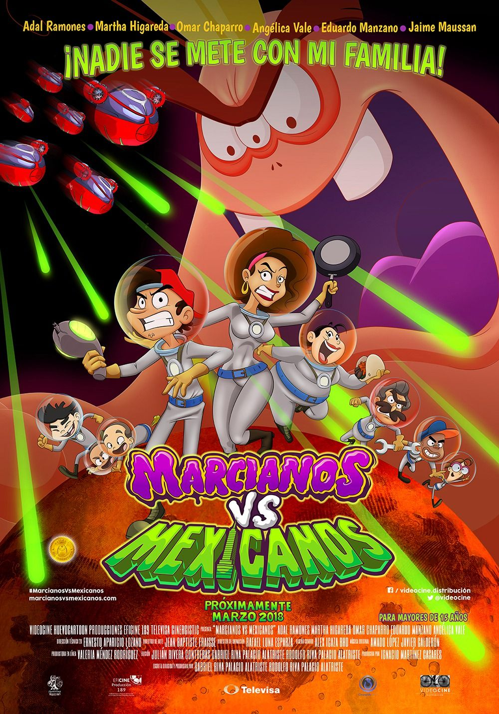 Marcianos vs Mexicanos movie poster (2 of 2) Full films