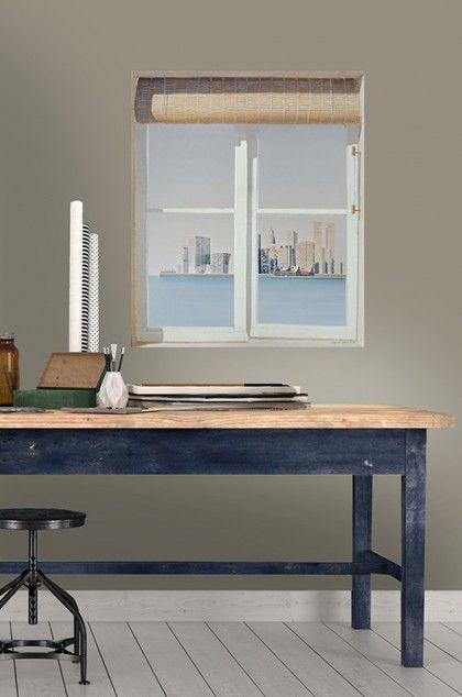 Papier peint vue panoramique Louiz et Leonor Rieti peinture   e - Peinture Porte Et Fenetre