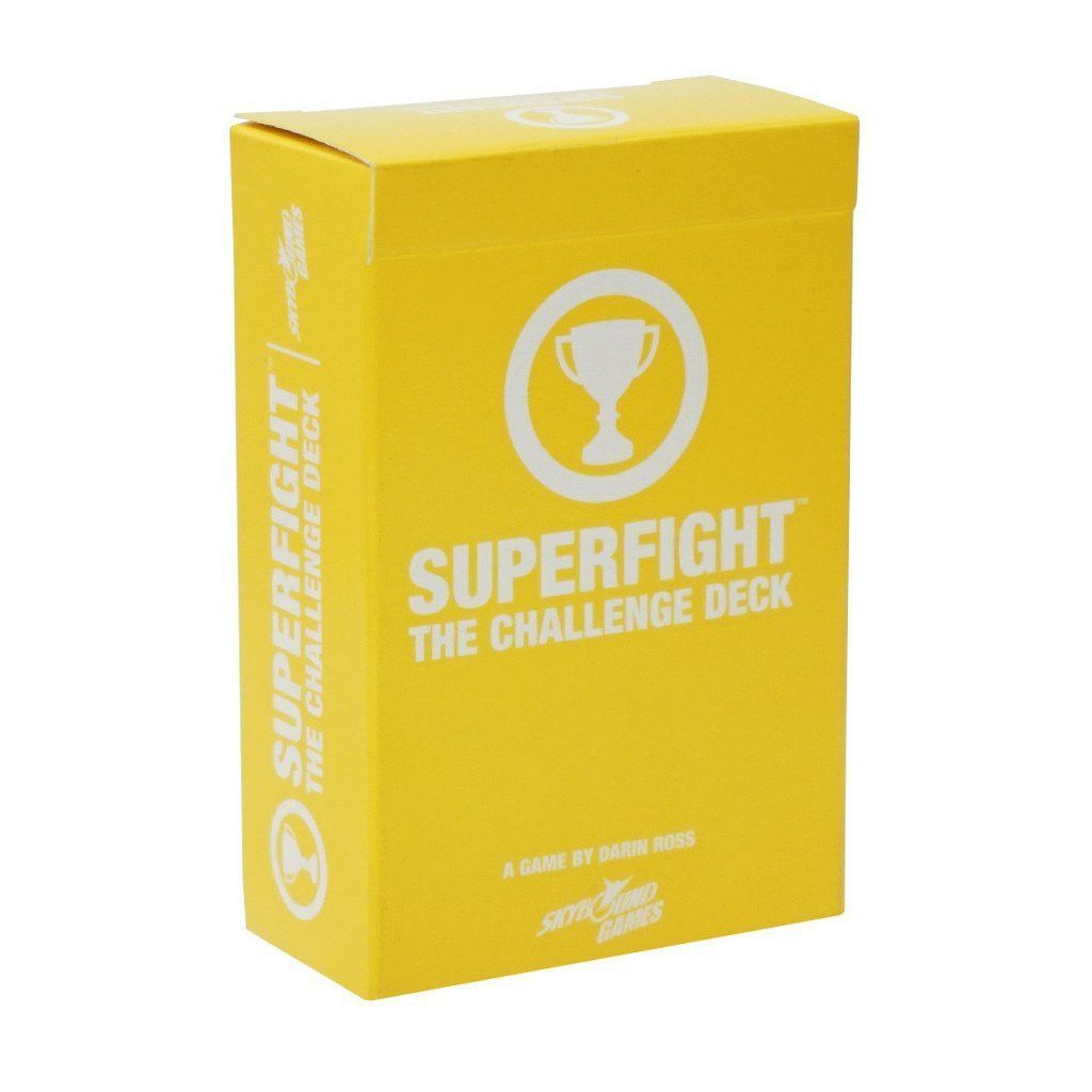 superfight the challenge deck expansion  card games