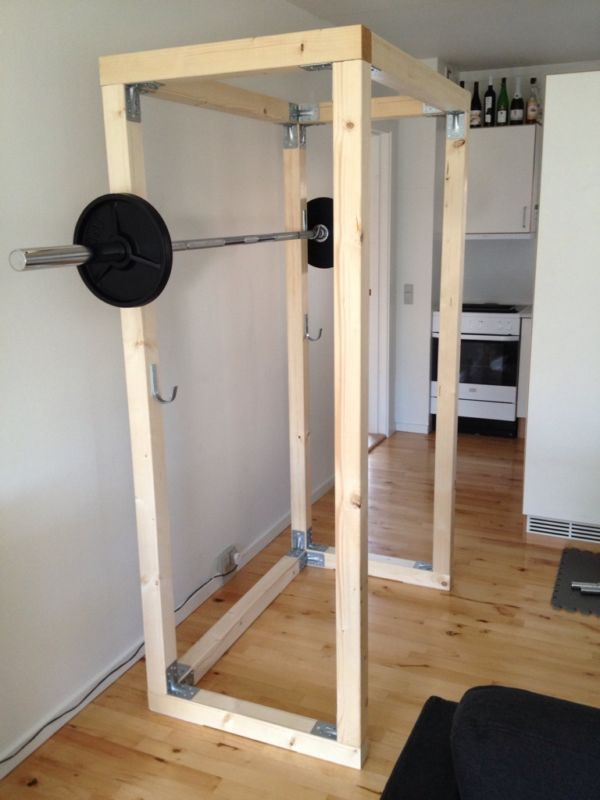 Build your own wood gym equipment home plans for