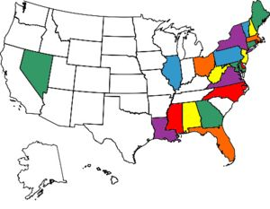 My Visited States MapSadly I have been to more foreign countries