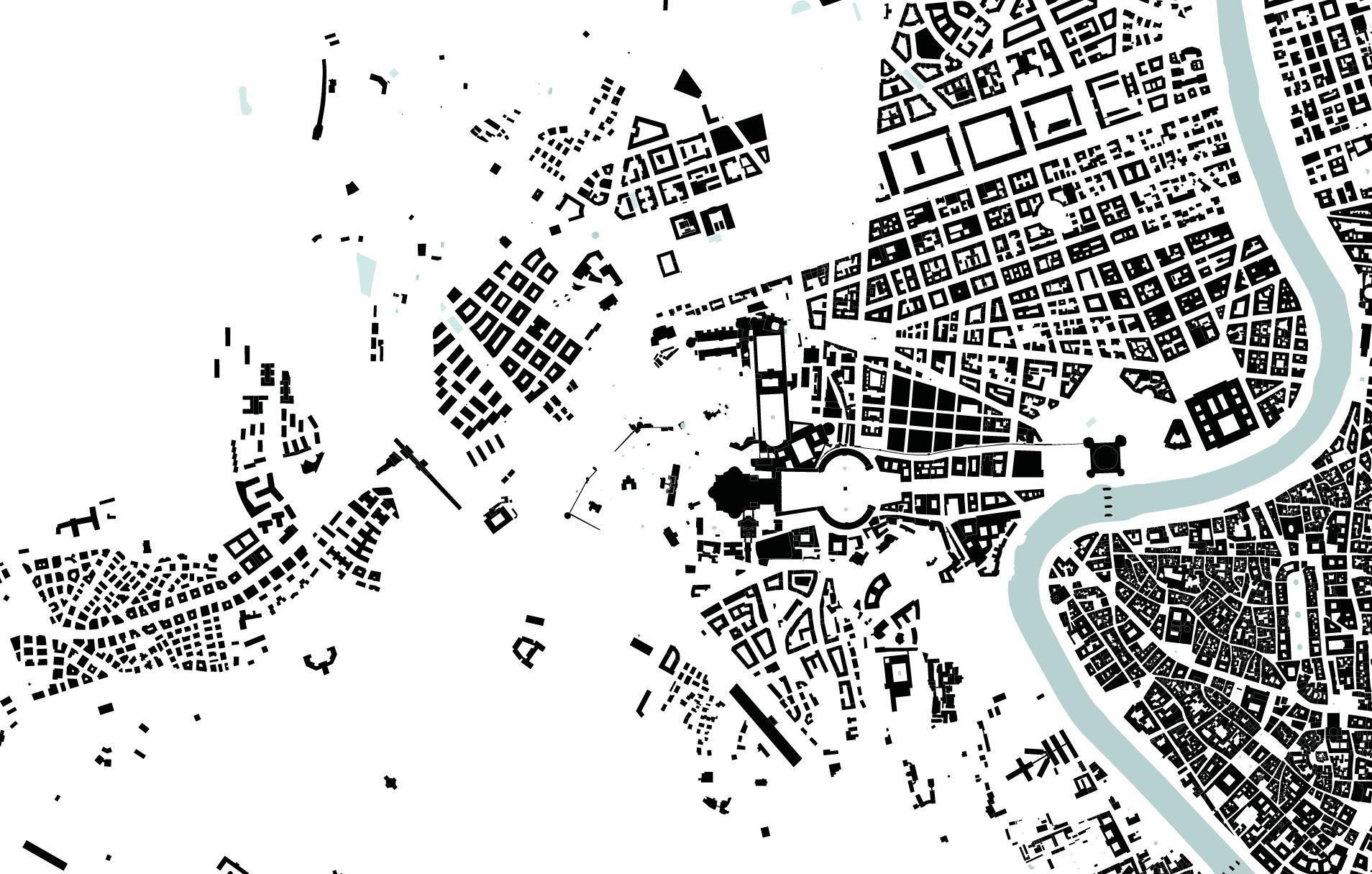 Vatican City Nolli Map 1 10 000