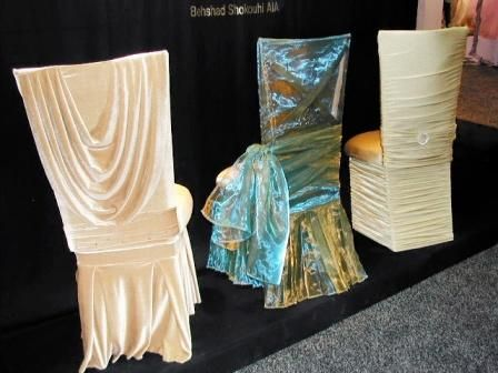 Elegant Wedding Chair Covers | Dazzle & Design - Here\'s More of Our ...