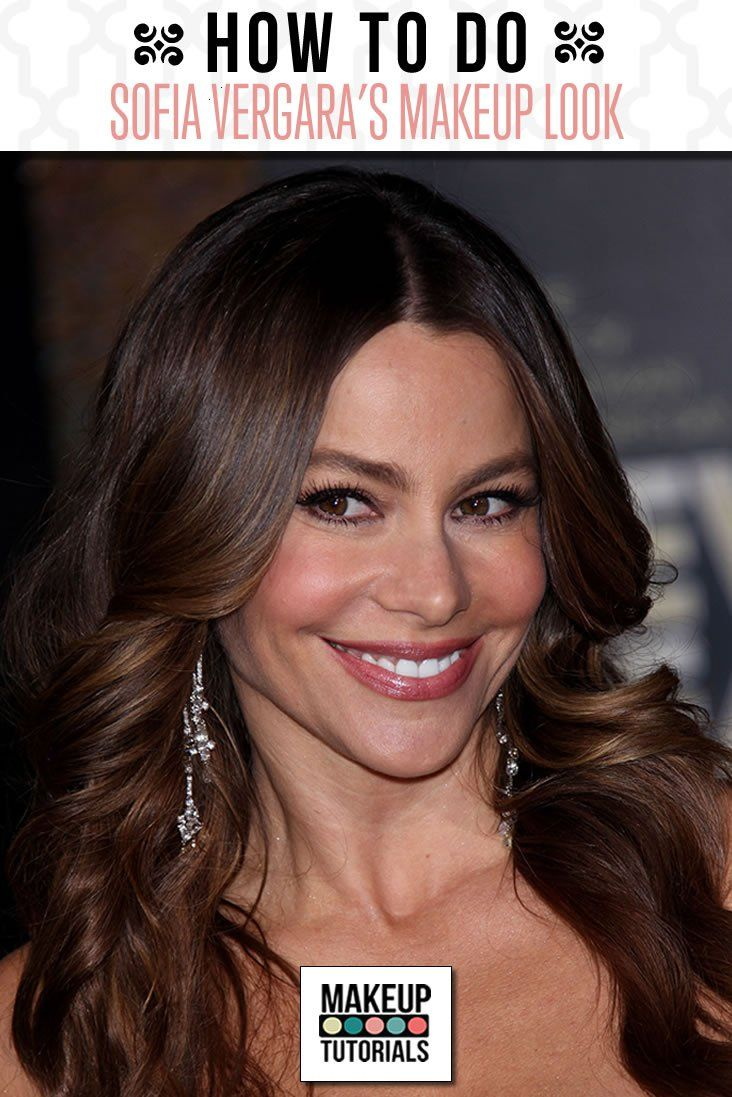Beauty On A Budget Sofia Vergara Easy makeup tutorial