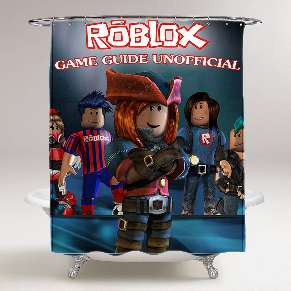 Roblox Room: Roblox Game Bathroom Shower Curtain In 2019