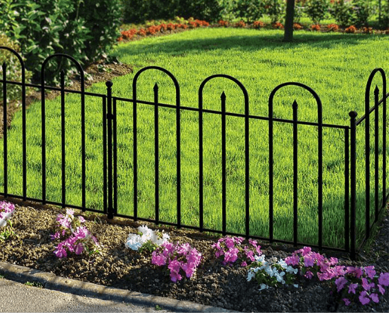 Garden Fence Panels Landscaping The Home Depot Garden Fence Types And Models Over The Centuries S In 2020 Garden Fence Panels Garden Fence White Garden Fence