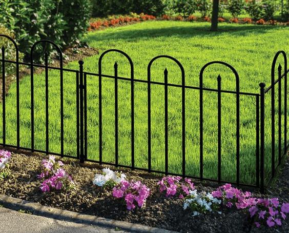 Garden Fence Panels Landscaping The Home Depot Garden Fence