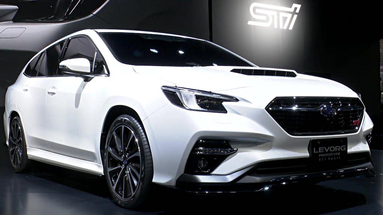 Subaru Prototype STI Sport reveal at the Tokyo Auto