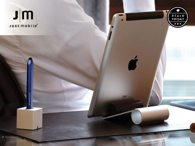The Beautiful Slide Stand + The AluPen Stylus For IPad