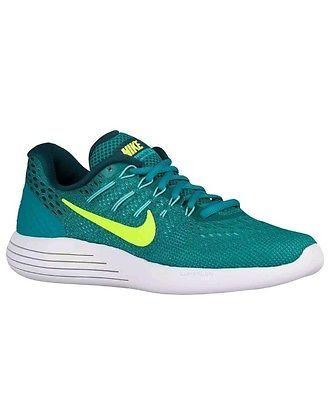 Nike Women's Lunarglide 8 Running Shoe Rio Teal/Volt/Clr Jade/Mid Trq