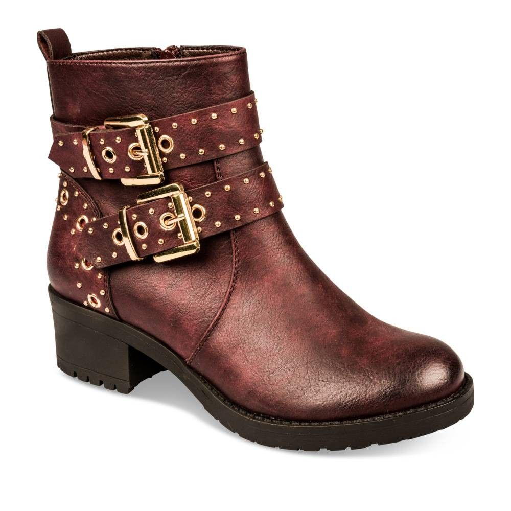 Bottines à talon BORDEAUX MyB