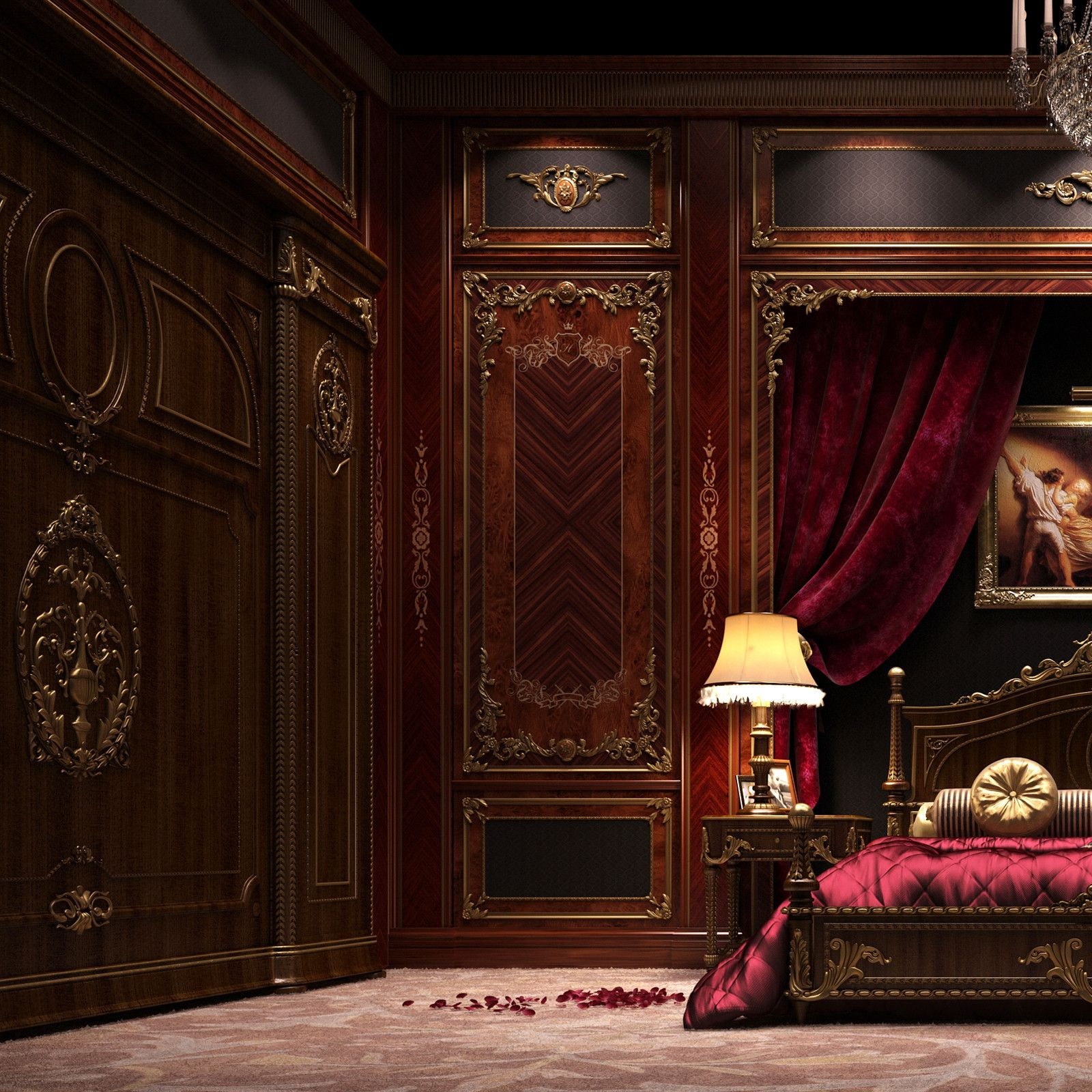 3ds Max Scene Asnaghi Bedroom Luxurious Bedrooms Luxury Bedroom Master Contemporary Bedroom Design Red luxury room pictures