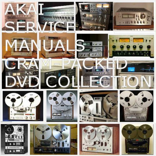 Details about Akai Service Manuals Schematics Brochure Magazine
